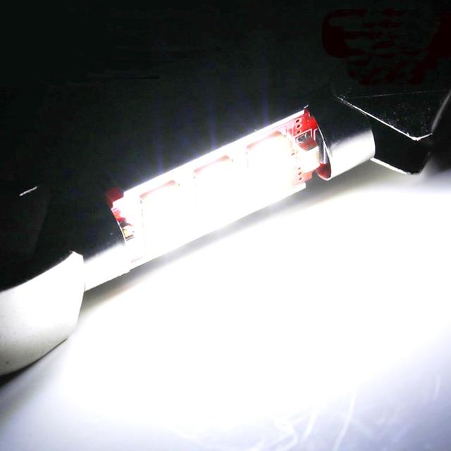 Festoon C5W samochód Led Light 31-36-39-41mm bagażnik samochodowy oświetlenie CanBus lampa kopułkowa lampka do czytania samochodowa schowek na rękawiczki żarówka 12V
