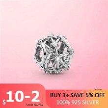 2021 neue 100% 925 Sterling Silber Openwork Stern Konstellationen Charme fit Perlen Armband DIY Silber 925 Schmuck Machen Geschenk