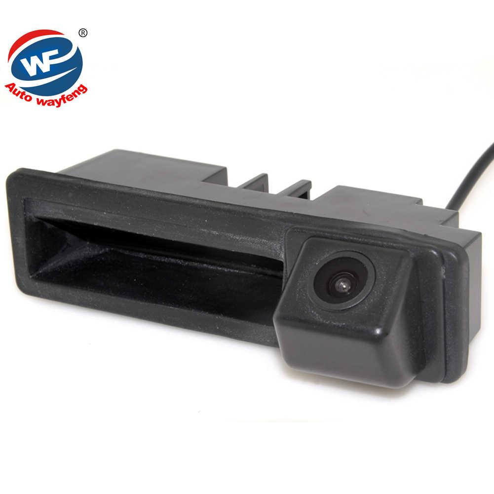 Dla Cayenne Audi A4 A4L A6 A6L A7 A5 Q7 Q5 Q3 RS5 RS6 A3 A8L CCD dynamiczny trajektorii uchwyt bagażnika tylna kamera lusterko wsteczne kamery