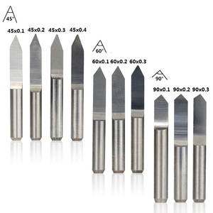 Image 3 - XCAN 10pcs 45/60/90 Degrees PCB V Shape Engraving Bits 3D CNC Router Bit 3.175mm Shank PCB Carving Milling Tools