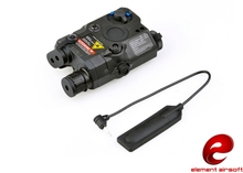 Buy Z-TAC element airsoft Weapon Mounted light Tactical LA-PEQ15 flashlight EX276 BK directly from merchant!