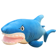 Big Mouth Shark Plush Toys Popular Sleeping Pillow Cute Toy Stuffed Animals Plushies Kawaii Soft Plushie for Children AP