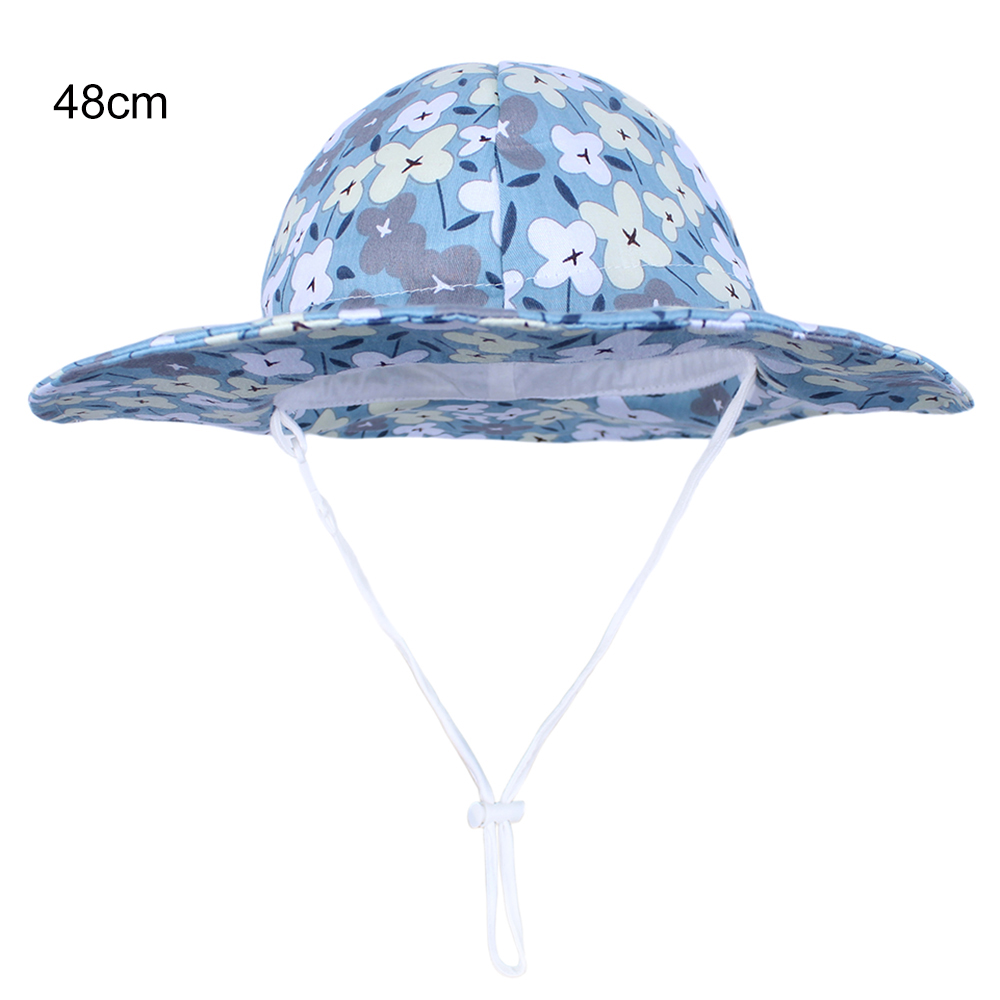 Swimming Hats Beach Cap Bucket Hat Baby Sun Hat with Adjustable Chin Strap