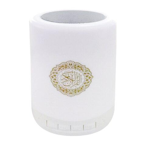 Toque sem Fio Ajustável Rádio Portátil Colorido Bluetooth Alto-falante Controle Remoto Pequena Casa Lâmpada Led Alcorão Presente Mp3 Usb fm