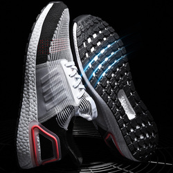 2019 Men Massage Mesh UltraBoost Sneakers Wear Running Shoes Breathable Male Outdoor Sports Shoes Size 39 -47 Zapatillas Hombre