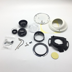 Image 4 - 새로운 돔 카메라 주택 AHD IPC CCD pcb에 대 한 플라스틱 CCTV 카메라 하우징