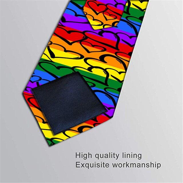 Модный мужской галстук 8 см деловой стиль 6