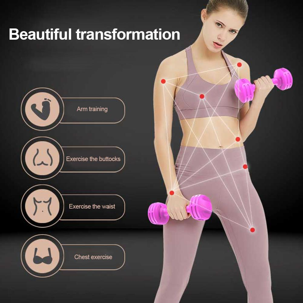 1Pair Fitness Dumbbells Weight Exercise Dumbbells For Men Women Home Office Daily Workout Strength Training
