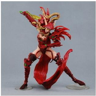 NEW in retail box wow Blood ELF Rogue Valeera Sanguinar PVC Action Figure Anime Figure Collectible Model Toy Statue 2