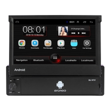 1-Din Mp5-Player Bluetooth Car-Radio Android 7inch GPS Wifi Camera Am/Fm-Car 4LED