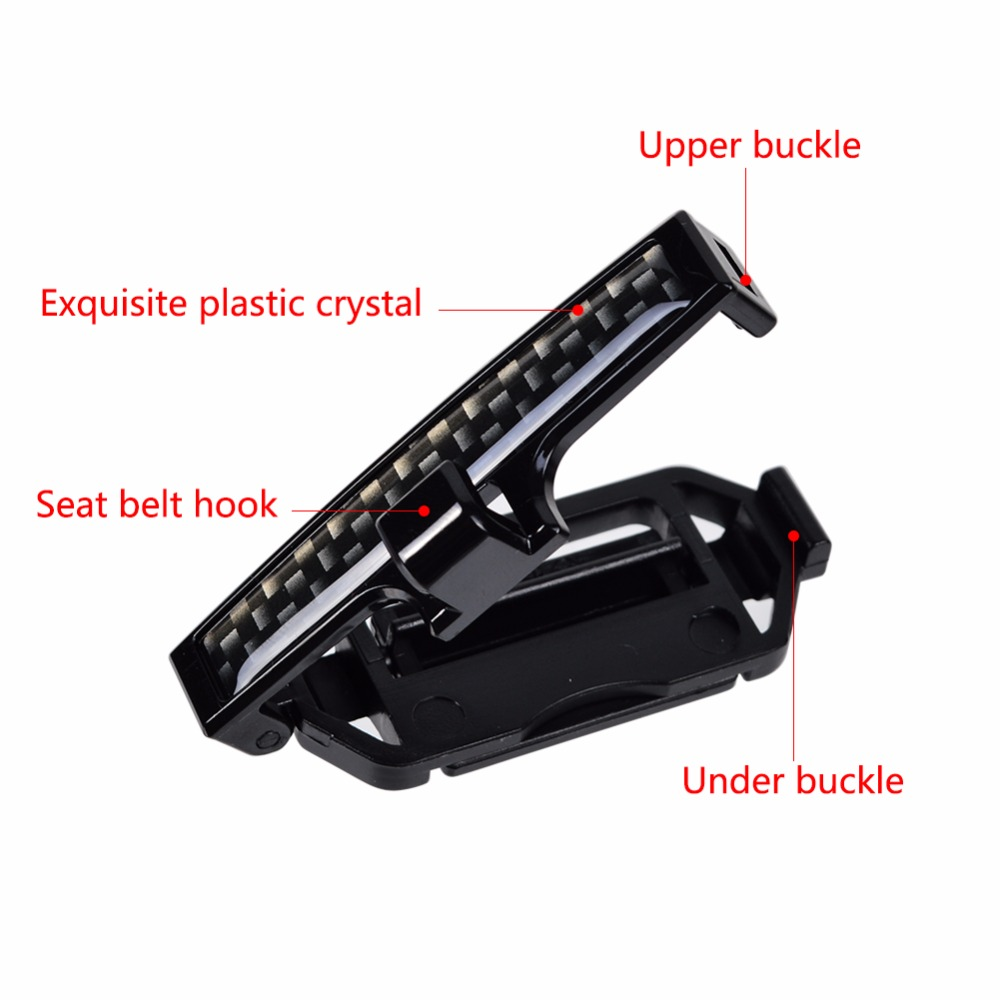 Image 3 - Car Safety Belt Clip Accessories Stickers for Citroen C4 Aircross C1 C2 C3 C4L C5 C6 C Crosser C Elysee 2018 2017 2016 2015 2014-in Car Stickers from Automobiles & Motorcycles