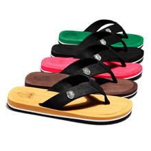 Мужские летние шлепанцы сланцы пляжные сандалии Нескользящие