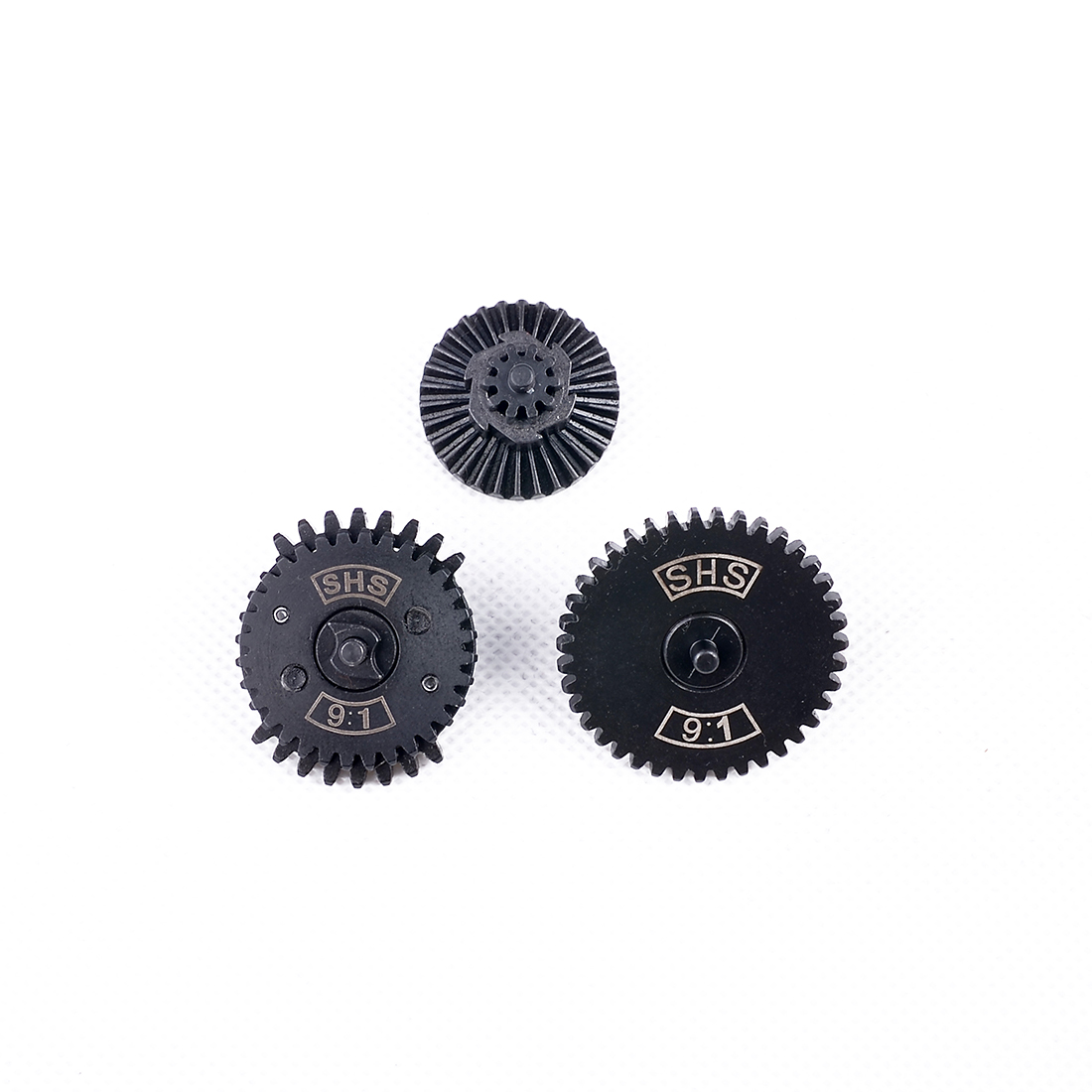 Droppship SHS / FB 9:1/ 13:1/16:1/32:1 High Speed Dual Sector Gear Set For FB / JM Gen.8 / JM Gen.9 Gearbox - Black