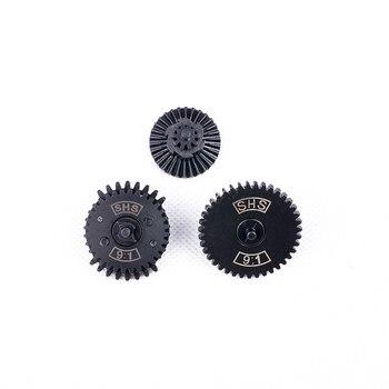Droppship SHS / FB 9:1/ 13:1/16:1/32:1 High Speed dual sector Gear Set for JM Gen.8 Gen.9 Gearbox - Black