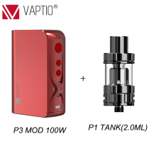 Gift 100W vape mods 3000mAh E Cigarette P3 BOX MOD Built in battery TC VW Mod FIT 510 Thread atmizer TANK cigarette