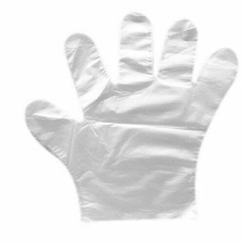 100 Disposable Clear Vinyl Gloves Powder & Latex Free Cleaning Spa Hair Acid Alkali Resistance Waterproof Anti-skid brand new 45cm acid alkali resistant safety gloves waterproof and oil anti skid gloves industrial gloves free shipping