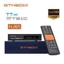 GTMEDIA TT Pro Terrestrischen Empfänger DVB-T2 Kabel TV Empfänger USB H.265 1080P Full HD TV BOX Set Top BOX mit Europa cline