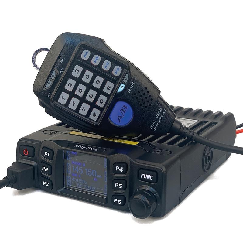 Anytone Walkie Talkie AT-778UV Dual Band VHF 136-174MHz UHF 400-490MHz 25Watt 200CH FM Mobile Radio