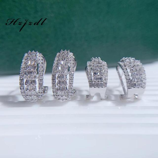 Diamond earrings 18K gold 0.6ct Women