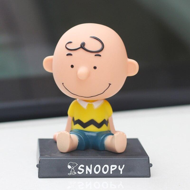 Snoopy Charlie Brown auto scuotere la testa decorazioni di ARACHIDI decorazione cruscotto auto accessorie auto accessori regali bambola auto
