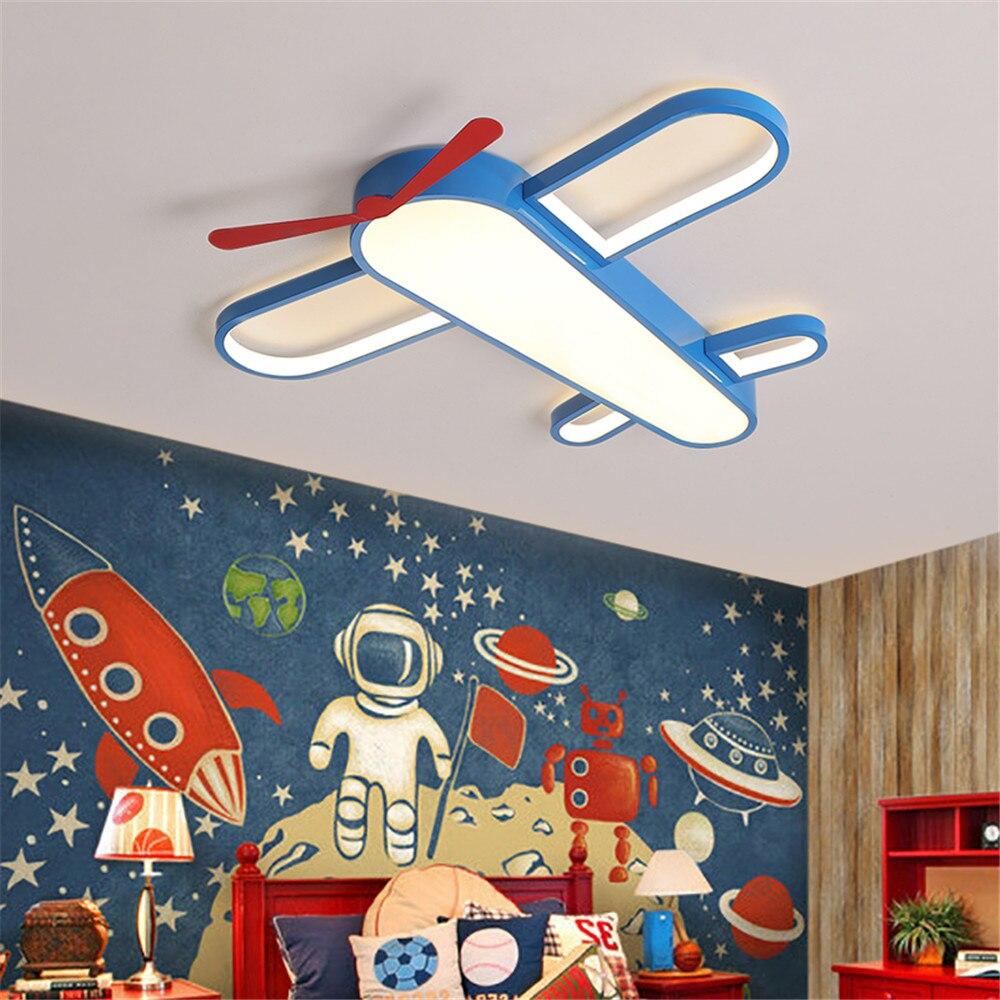 Современный потолочный светильник, светодиодный потолочный светильник с изображением героев мультфильмов, детская лампа для спальни, дома