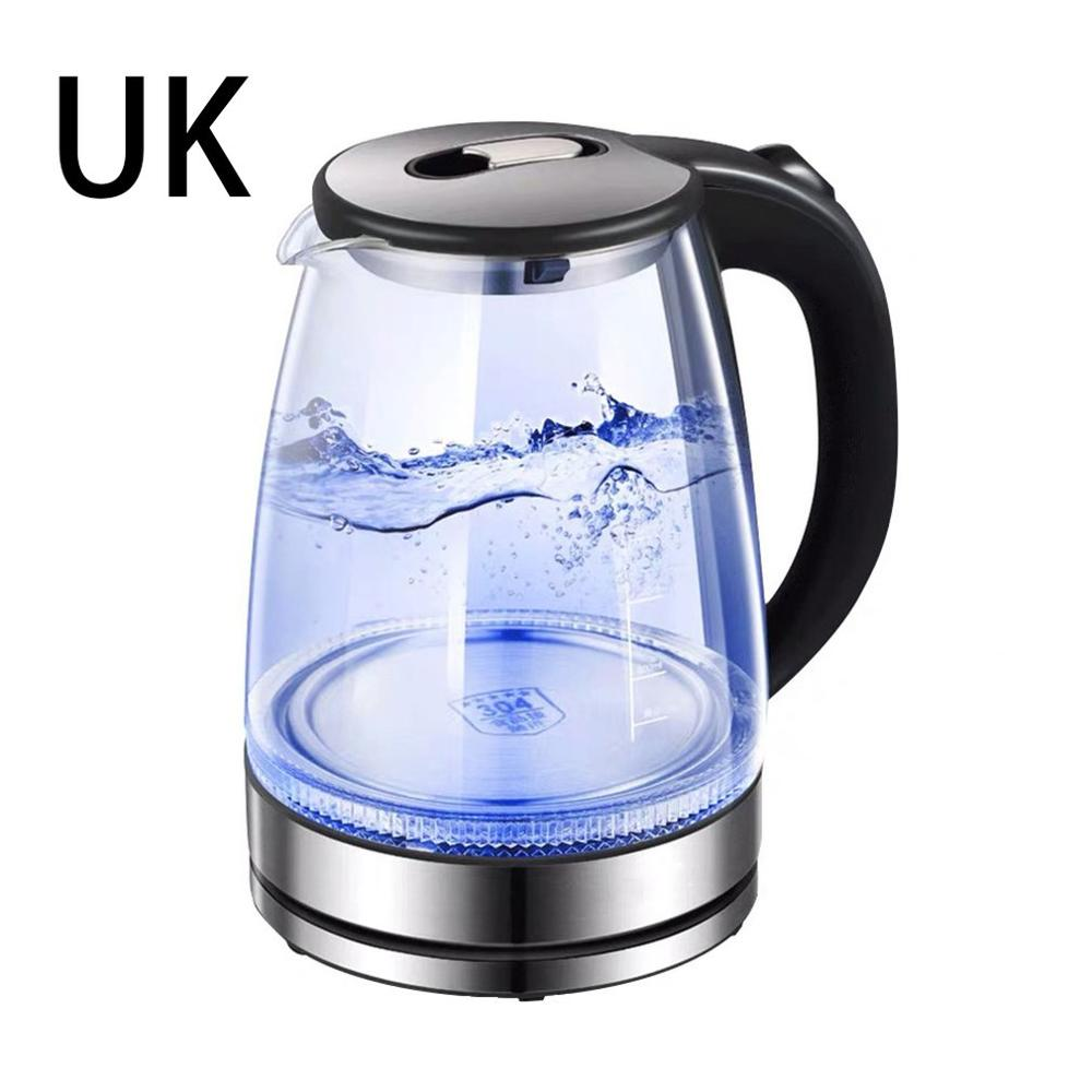 Electric Kettle SpeedBoil Glass Tea Kettle Cordless Kettle with Auto Shut-Off and Boil-Dry Protection Power off Kettle