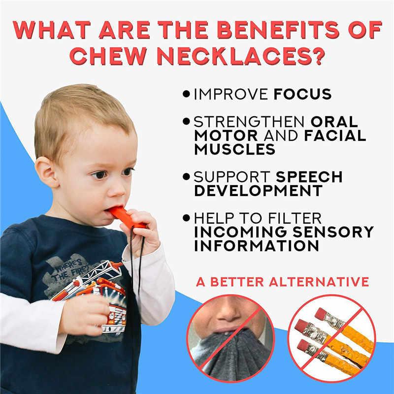 1Pcs Baby TeetherซิลิโคนTeethingของเล่นดินสอTeetherปากกาหมวกเกรดอาหารChewableสร้อยคอจี้เด็กฟันพยาบาล