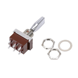 Image 3 - 1pcs KN3 203 toggle switch 3 Positions rocker  ON OFF ON 6pins  DPDT 3A/250V Handle Switch