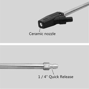 Image 4 - Blaster Areia molhada máquina de Lavar Lance Lança Varinha de Jateamento para Karcher/DAEWOO/Elitech/HUTER/Pressão LAVOR Sandblaster arma Óculos Gratuitos