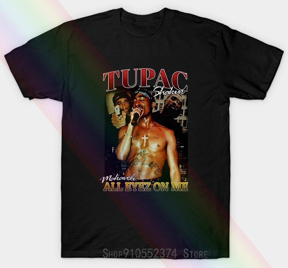 Tupac 2Pac Baseball Unisex T-shirt All Eyez On Me 2 Pac Exclusive Clothing Baseball Unisex T-shirt Women Men
