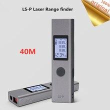 Youpin telémetro LS P Duka Telémetro Láser, telémetro portátil de 40m con carga USB Flash, medición de alta precisión