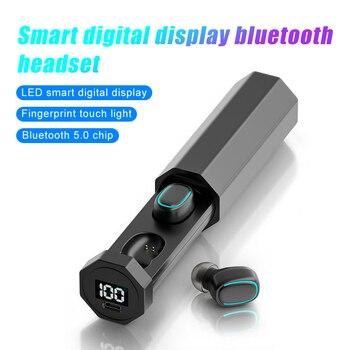 TWS True Wireless Bluetooth Headphone with Mic Waterproof Sports Earphones Mini Earbuds Game Headset