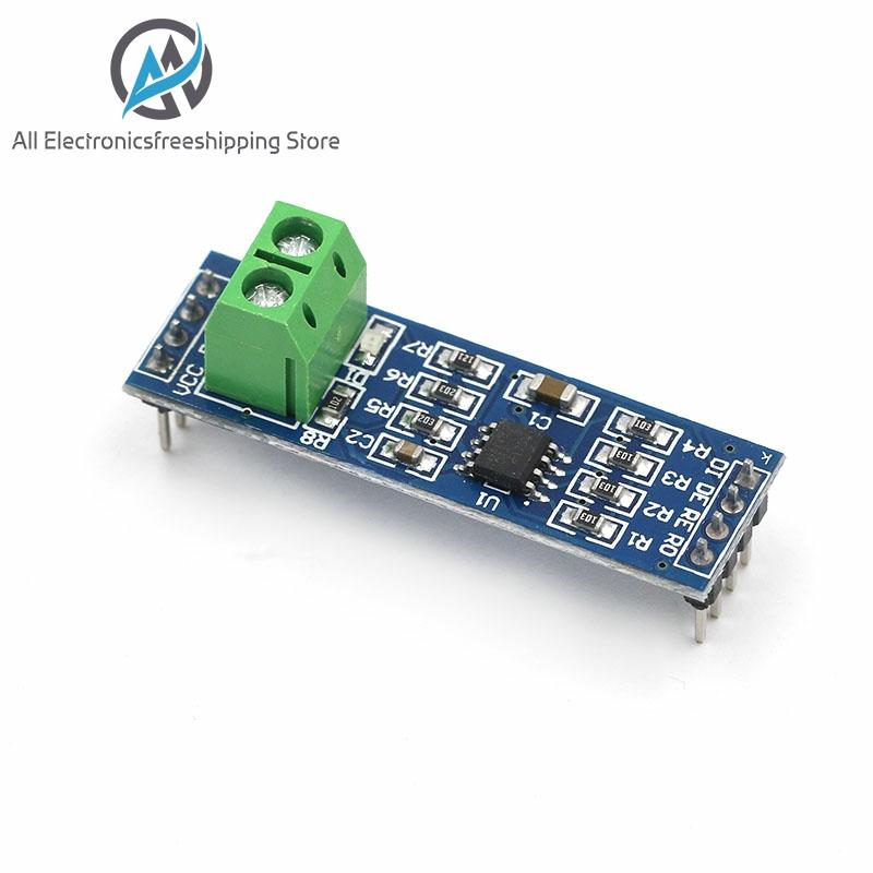 MAX485 Module RS-485 TTL Turn To RS485 MAX485CSA Converter Module For Arduino 10