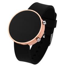 Kobiety Sport Casual LED zegarki dla dzieci męska cyfrowy zegar człowiek armia wojskowy silikonowy zegarek na rękę zegar Hodinky Relogio Masculino tanie tanio GoGoey CN (pochodzenie) Nie wodoodporne Z tworzywa sztucznego Klamra Moda casual NONE Nie pakiet 40mm Brak watch Women Kids Men