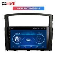 9 inch Android 8.1 IPS 2.5D Touchscreen Radio for Mitsubishi Pajero 2006 2011 with Bluetooth USB WIFI support SWC