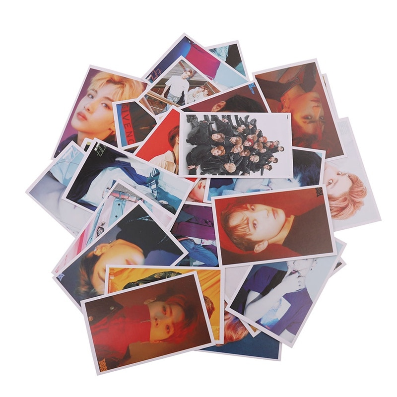 30 PCS/SET KPOP NCT 127 NCT U Photo Card Poster Lomo Cards Self Made Paper  Photocard Fans Gift Collection