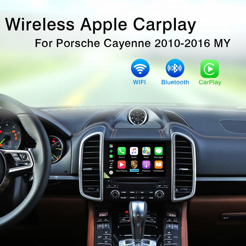 Yeesite OEM PCM 3.1 Wireless Apple CarPlay Retrofit for 2010-2016 Porsche Cayenne Car play Android Auto New Released image