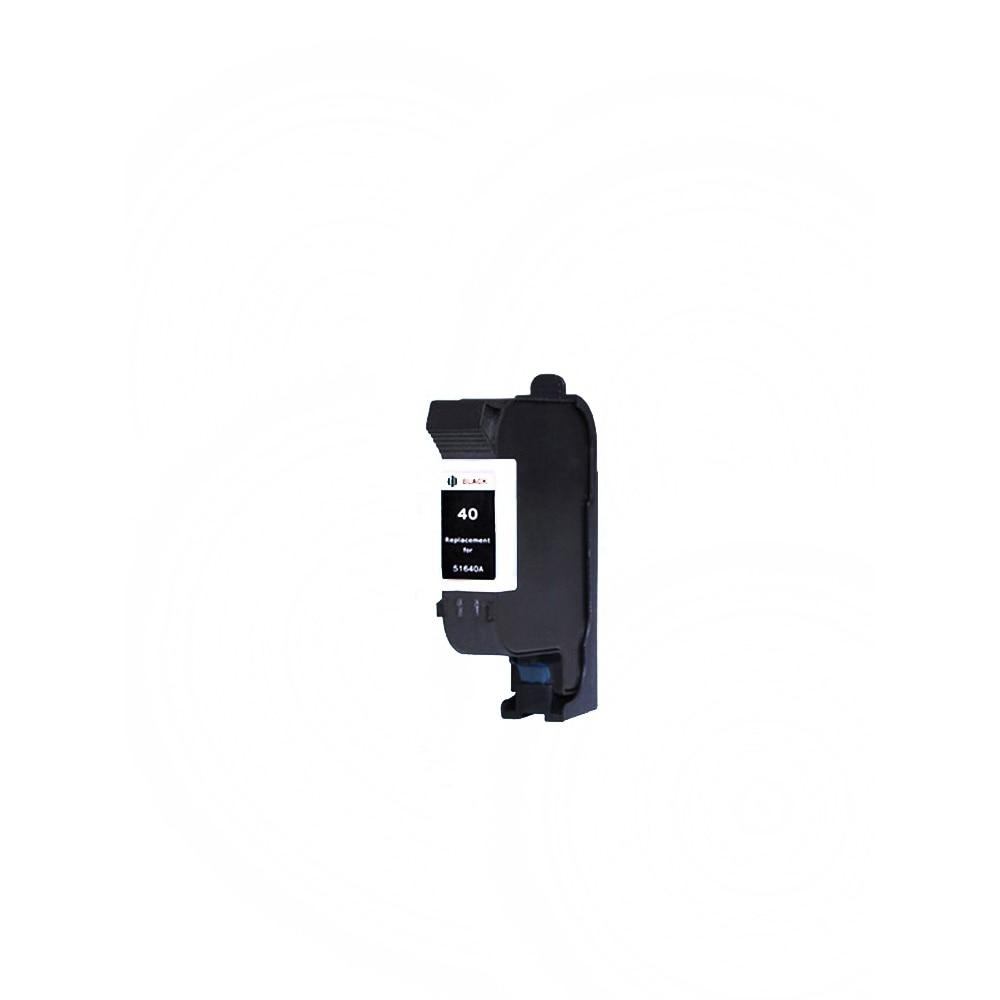 40BK X1 Black Ink Cartridge Compatible hp40 51640A Replaces for HP 40 Designjet 230 250c 330 350c 430 450c Printer