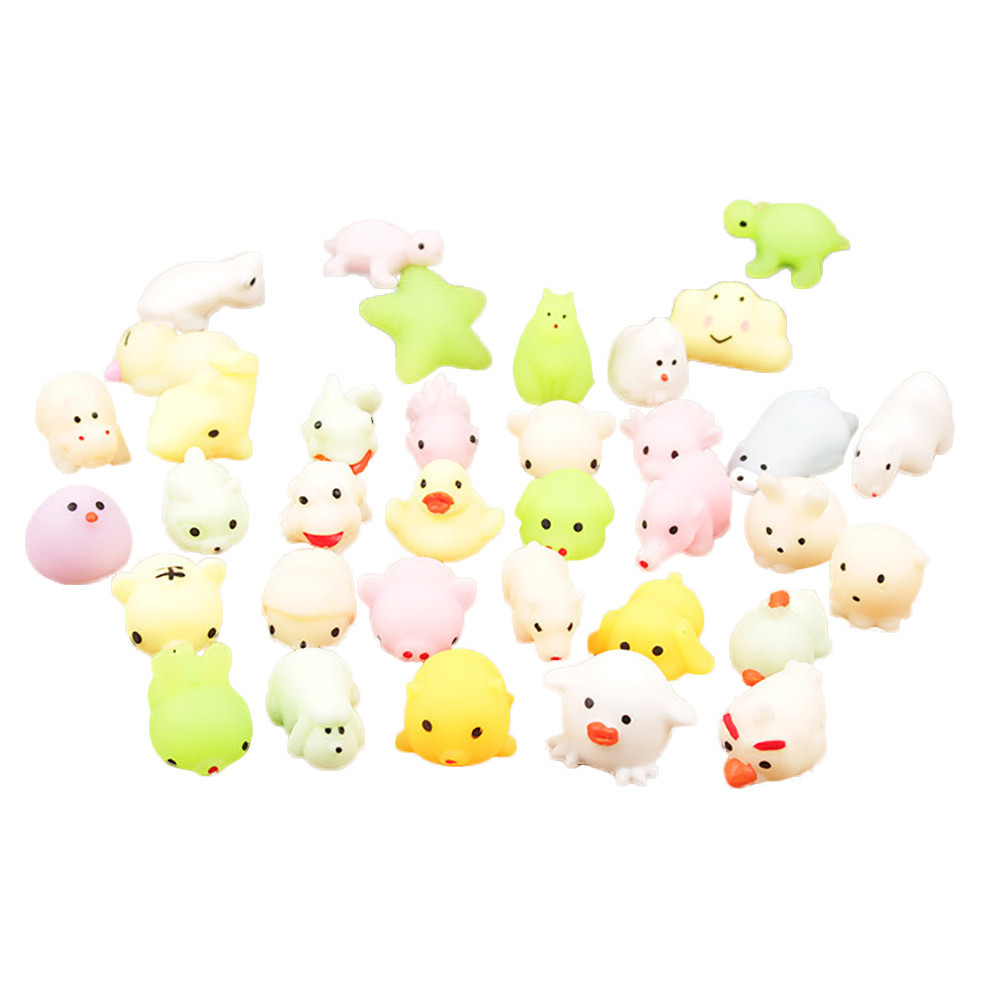 Hand-Fidget-Toys Squeeze Gift Mochi Cat Stress Reliever Squishy Antistress Kawaii Toy img2