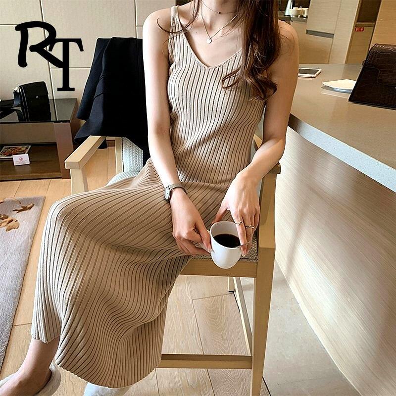 Mulher vestido elegantes para sexy casual robe pull preto inverno acolhedor plus size coreano vestidos de natal para mulher 2020 deslizamento y2k