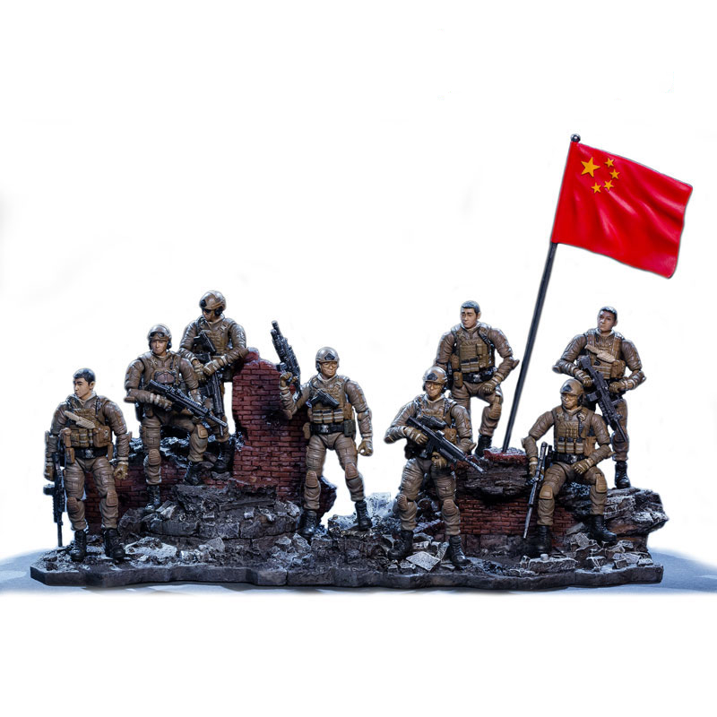 JOYTOY 1/25 7.6cm Action Figure Soldiers Red Sea Operation Special Operations Forces Model Toy Collection Free Shipping