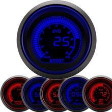 Tachometer Turbo-Boost-Gauge Digital Temp-Oil PSI 2--52mm Car