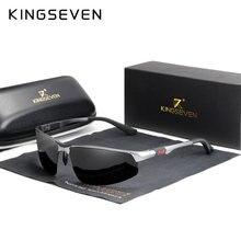 KINGSEVEN – lunettes De soleil photochromiques pour hommes, polarisées, Vintage, noires, pour la conduite, 2020