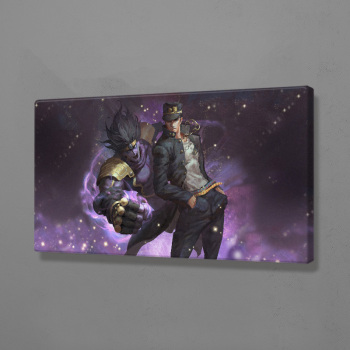Home Decoration Canvas Platinum JoJo S Bizarre Prints Painting Poster Wall Art Modular Animation Pictures For Bedside Background