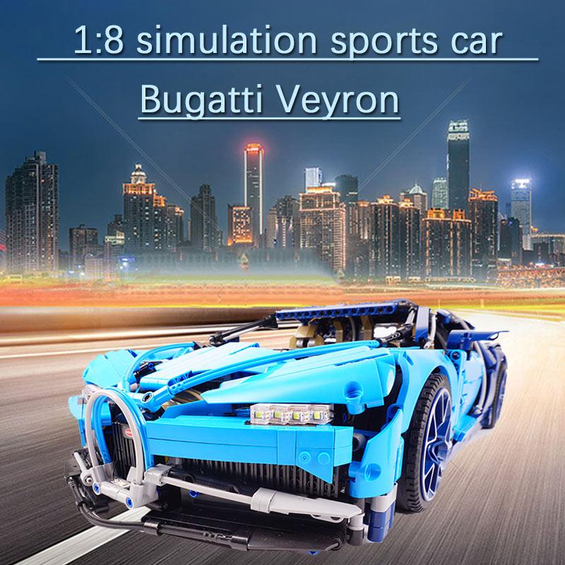 20086 4031 pièces lEGOED Bugattied voiture de course Chiron Compatible avec 42083 Technic modèle blocs de construction briques bricolage jouets enfants cadeaux