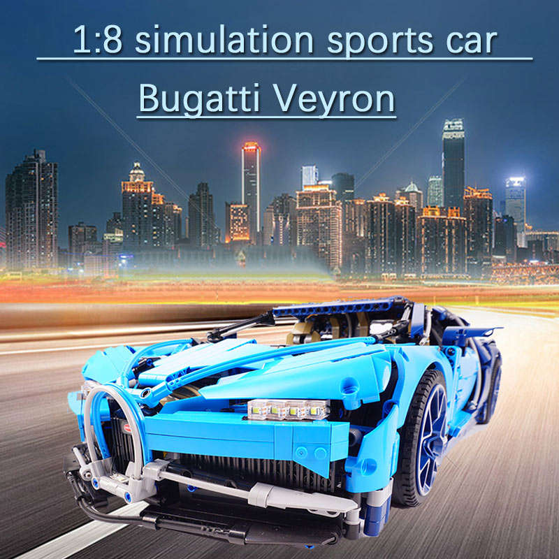 20086 4031pcs <font><b>lEGOED</b></font> Bugattied Racing Car Chiron Compatible with <font><b>42083</b></font> Technic Model Building Blocks Bricks DIY Toys Kids Gifts image