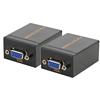 60M VGA RJ45 Signal Extender over LAN Ethernet Transmitter Receiver Adapter for PC Video Transmission