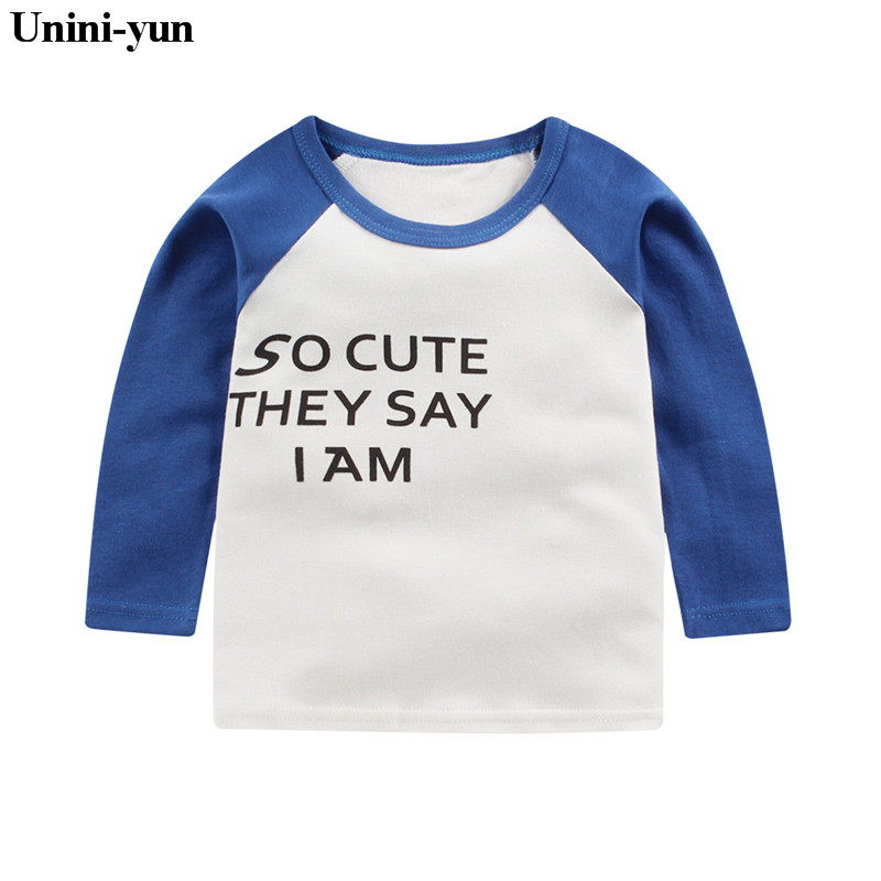 2018 Spring New Arrival Baby Kids Girls White Leisure Sweater Long Sleeve T-shirt Boys Clothes T Shirt Top Children Clot