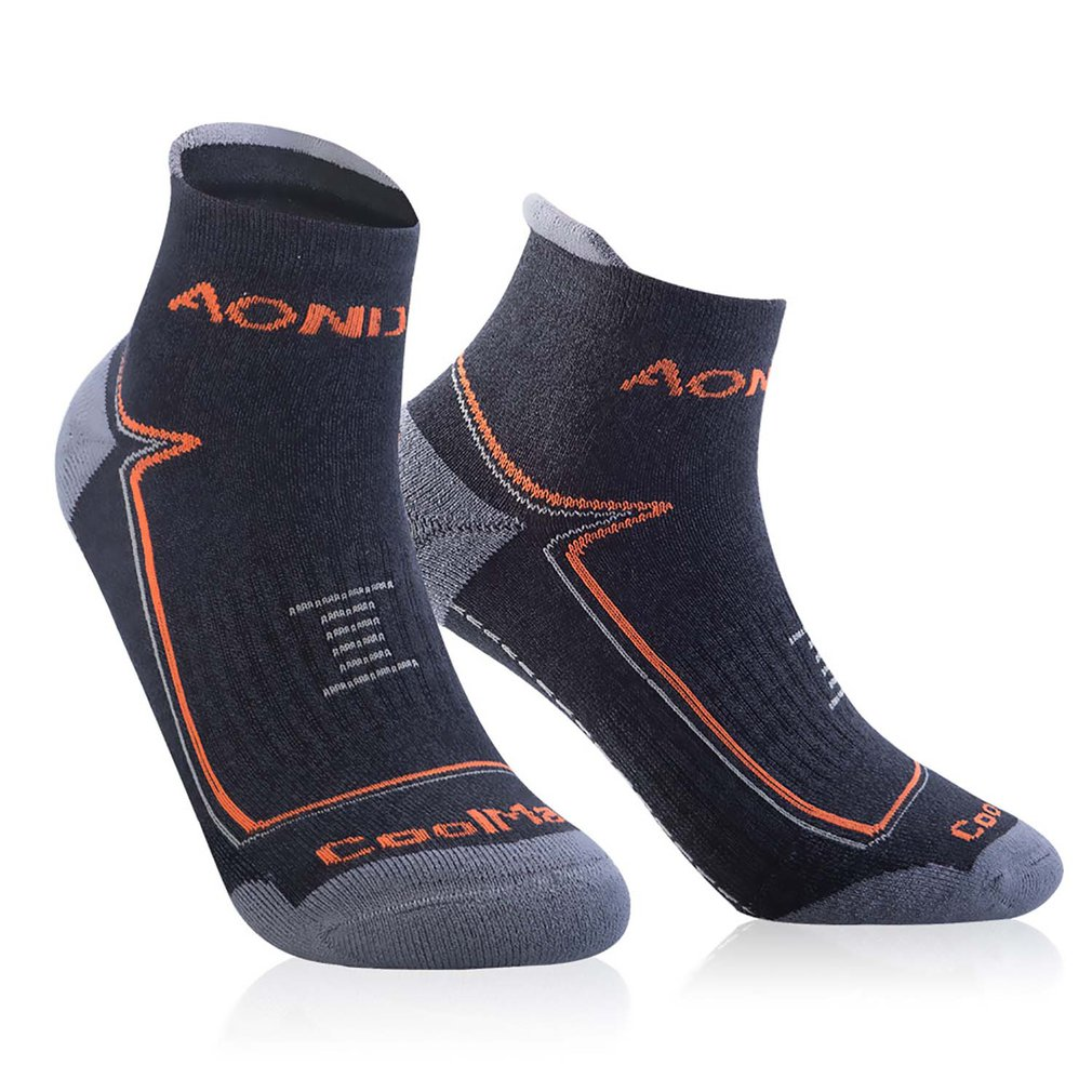 AONIJIE Sweat Resistant Skid Proof Wear-resistant And Breathable Sports Socks Towel And Nylon Hosiery Material