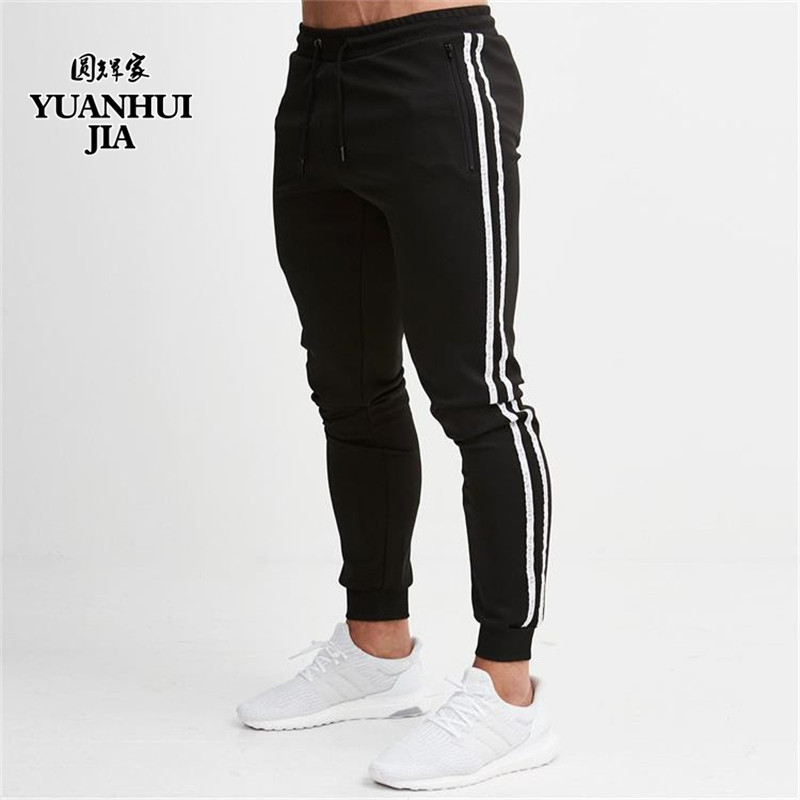 Trousers Hip-Hop pants Casual-Pants Street Jogging Black Men's Fashion-Brand New Summer